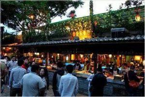Phố Tứ Phường, thành cổ Lệ Giang, tỉnh Vân Nam