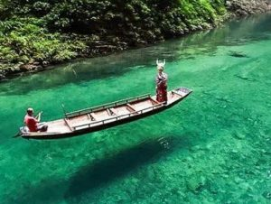Điểm tham quan Pingshan (Bình Sơn) Grand Canyon ở huyện Hefeng, tỉnh Hồ Bắc