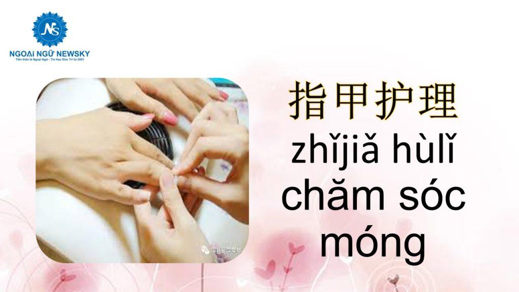指甲护理-zhǐjiǎ hùlǐ