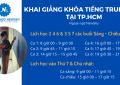 Khai giang khoa tieng Trung 2021 tai TPHCM