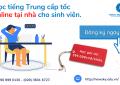 Hoc tieng Trung cap toc online tai nha cho sinh vien