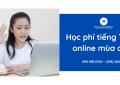 hoc phi tieng trung online mua dich