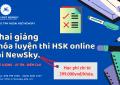 khai giang khoa luyen thi hsk online tai newsky